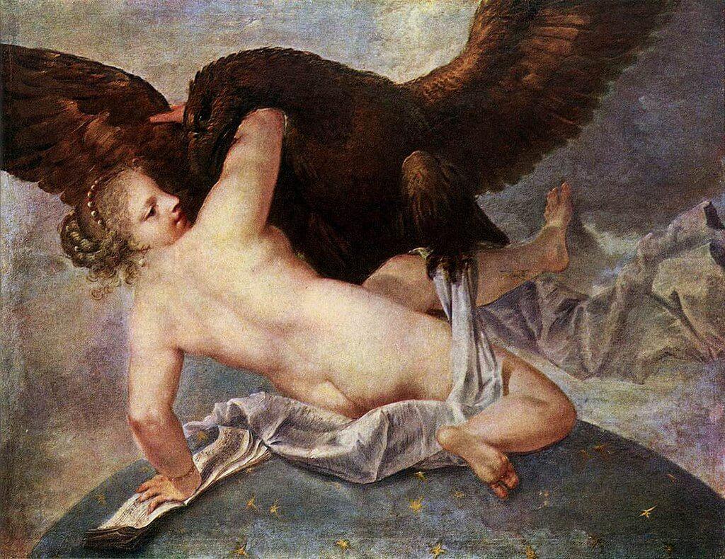 Asteria and Zeus