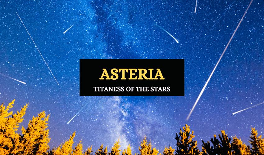 Asteria Greek goddess