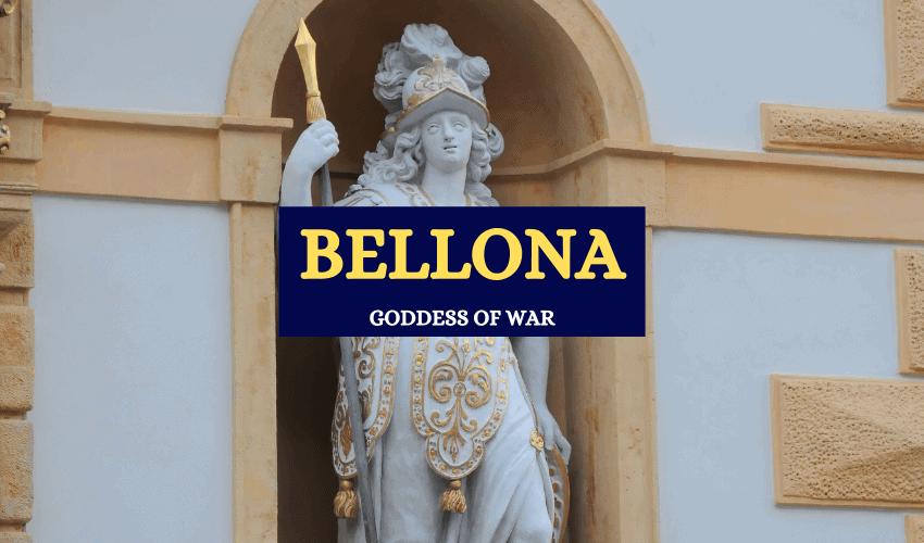 Bellona Roman goddess of war