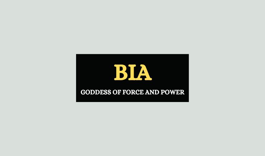 Bia Greek goddess