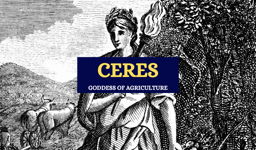 Ceres Roman goddess of agriculture