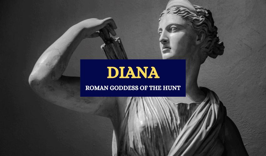Diana roman goddess