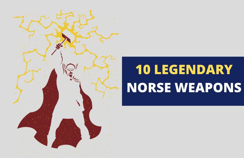 Famous Norse weapons mythology