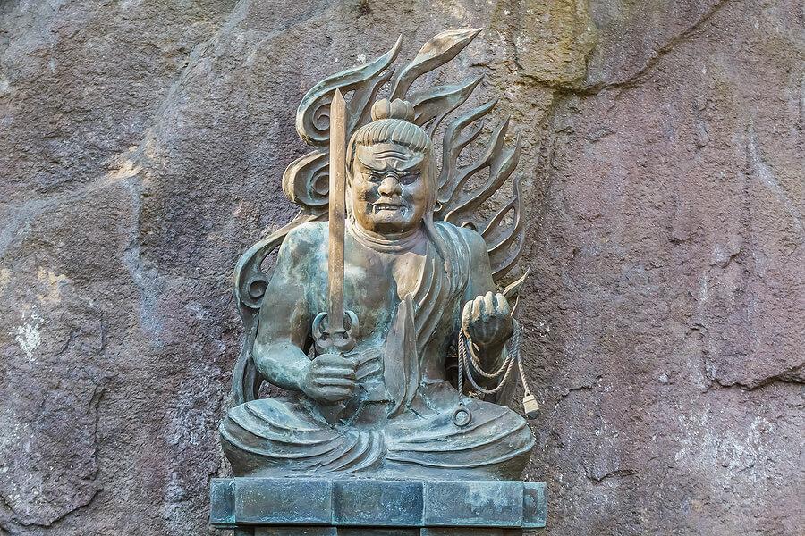 Fudo myoo god of wrath
