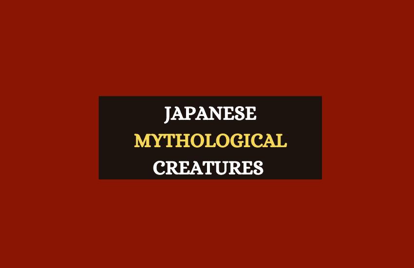 Japanese mythological creatures list