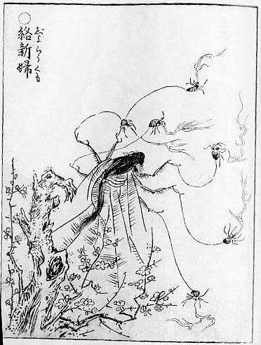 Jorogumo spider woman