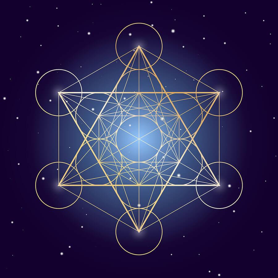 Metatron cube symbol
