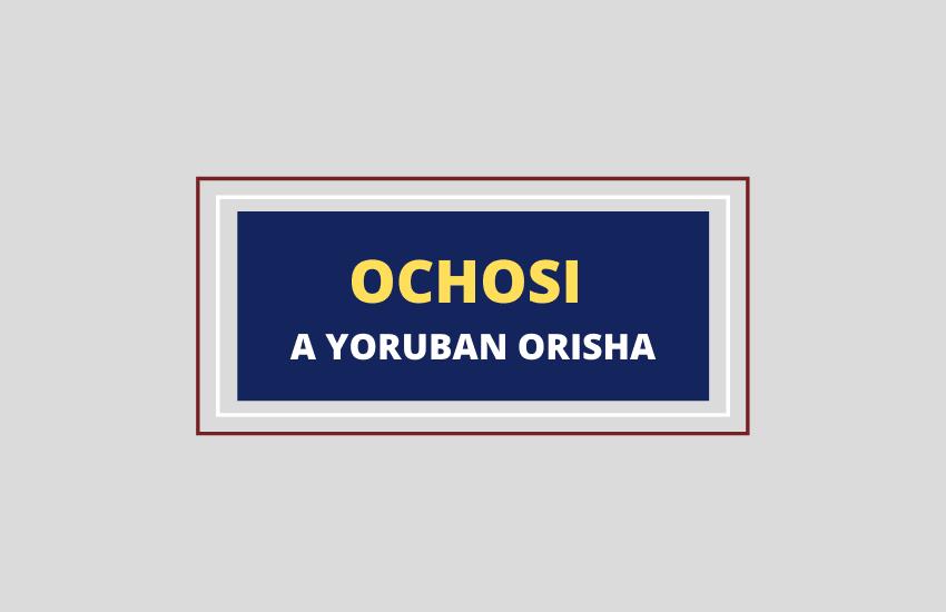 Ochosi mythology