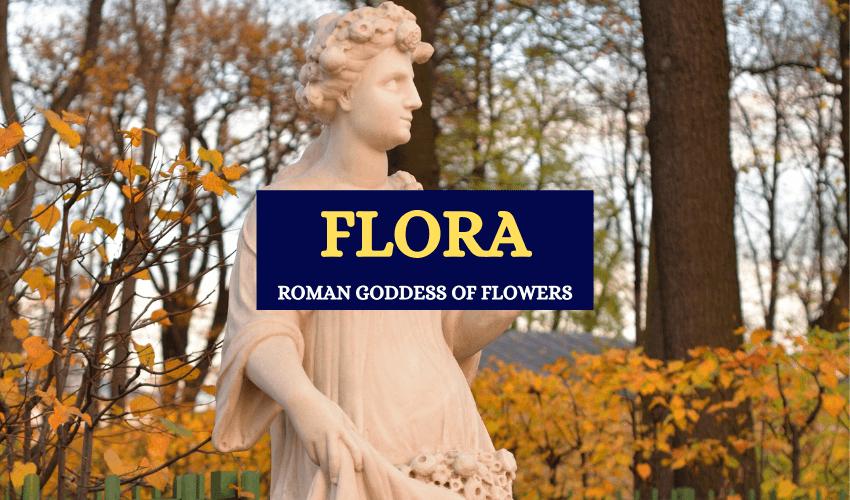 Roman goddess of flowers spring