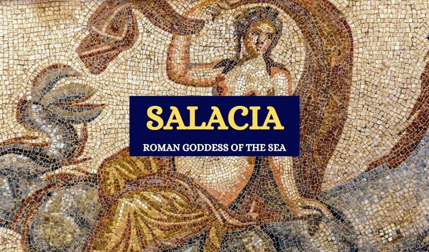 Salacia Roman goddess