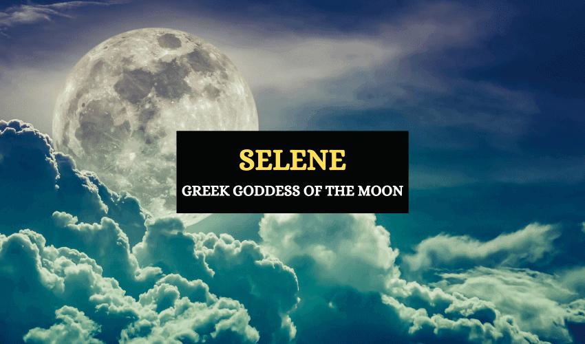 Selene Greek goddess of moon