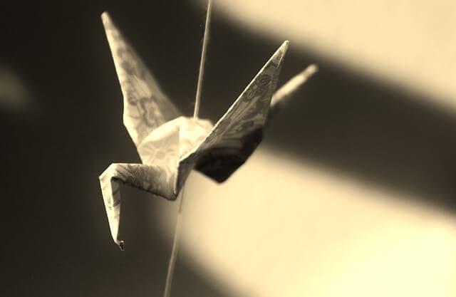 Shikigami paper plane
