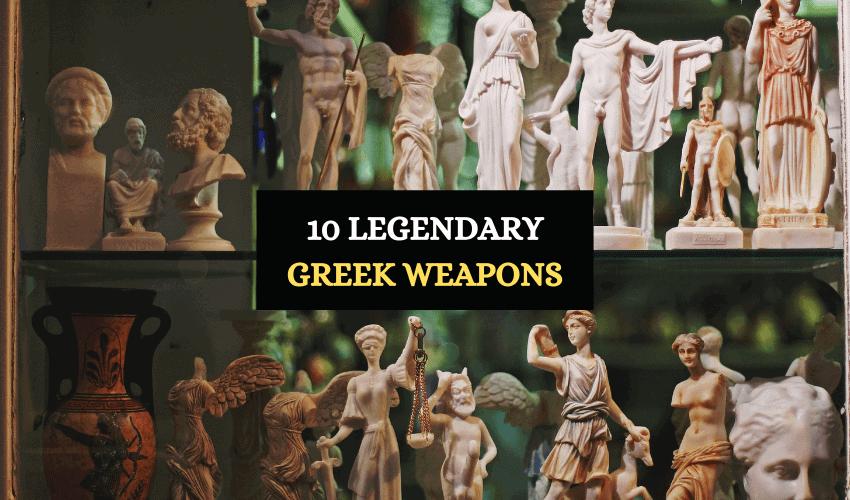 Legendary Greek weapons