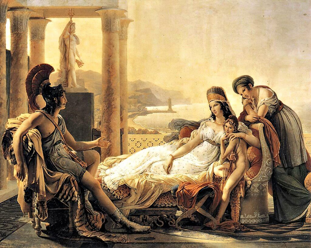 Aeneas and dido