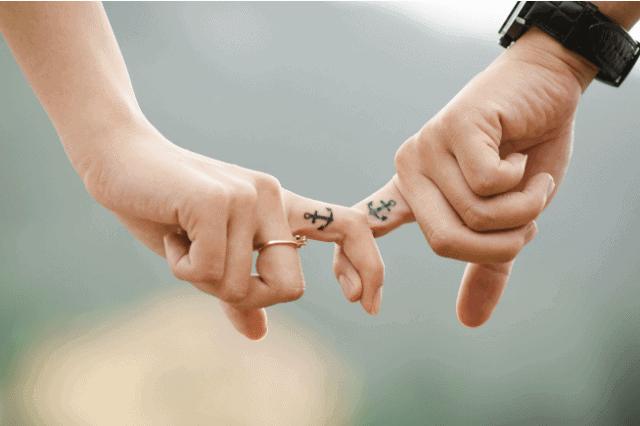 Anchor tattoo small