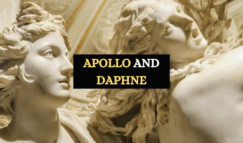 Apollo and Daphne story Greek mythology