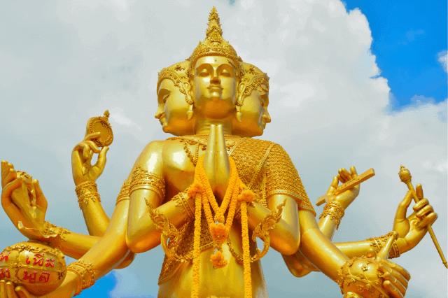 Brahma Hindu god