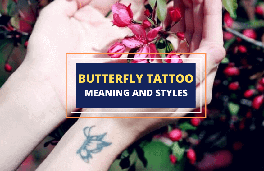 Butterfly tattoos and meaning