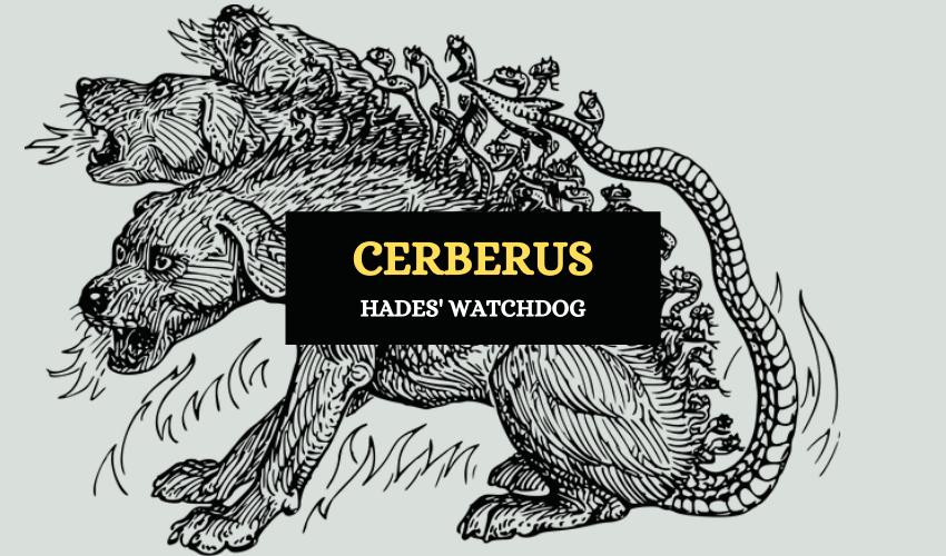 Cerberus Greek underworld dog