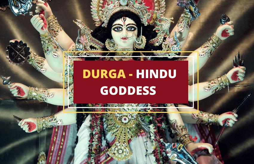 Durga Hindu goddess