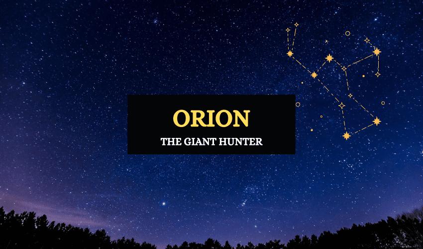Hunter Orion Greek mythology