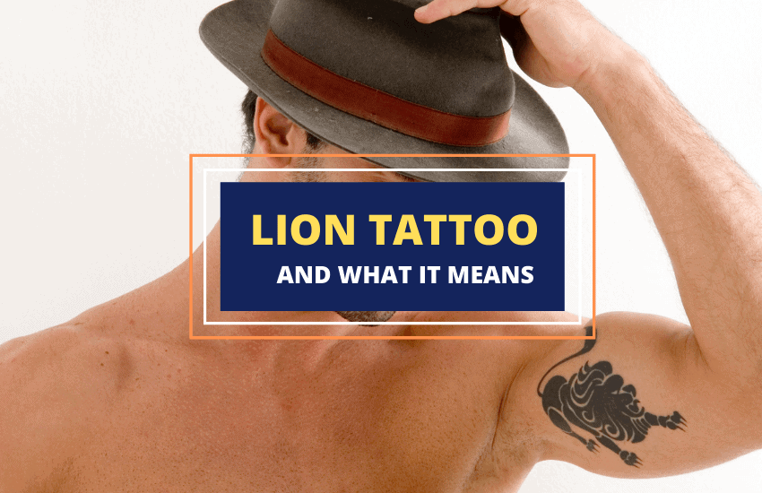 Lion tattoos meaning symbolism