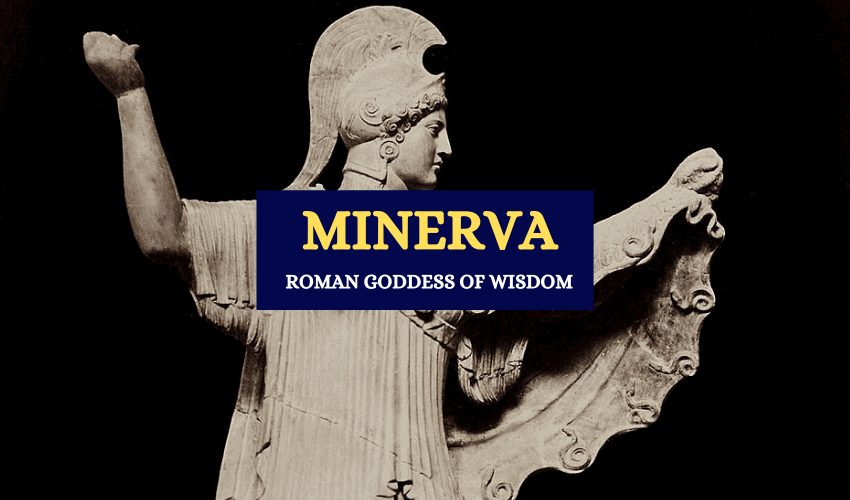 Minerva Roman goddess of wisdom