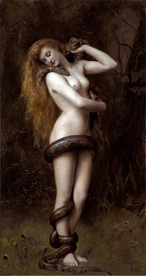 Painting of Lilith
