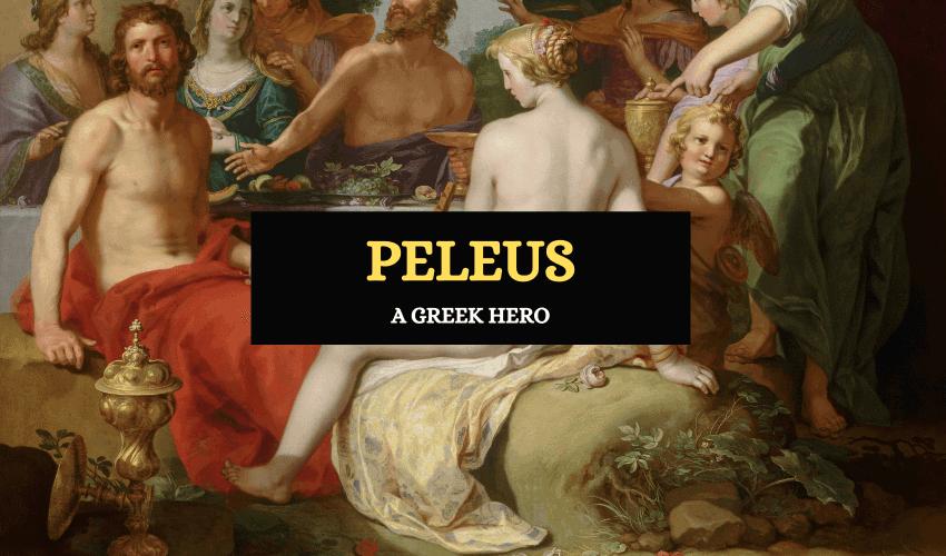 Peleus Greek mythology hero