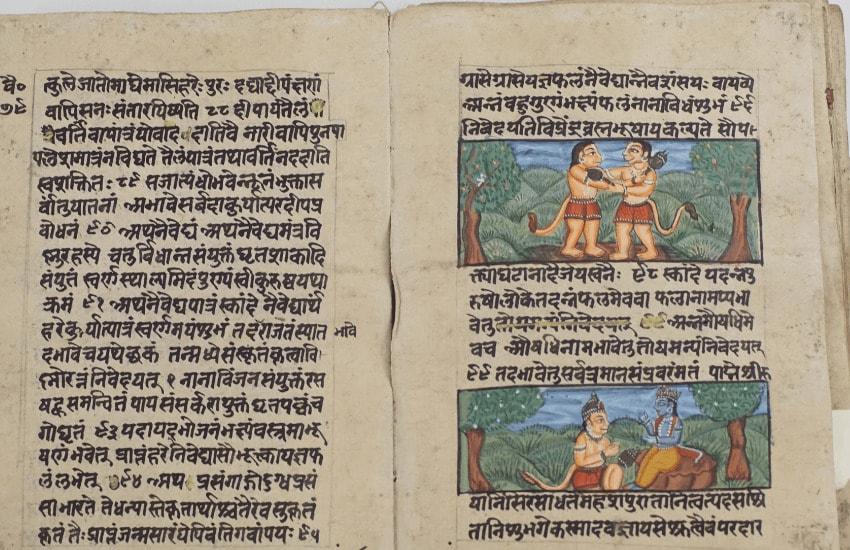 Scenes from ramayana