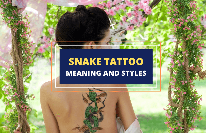 Snake tattoo meaning and symbolism