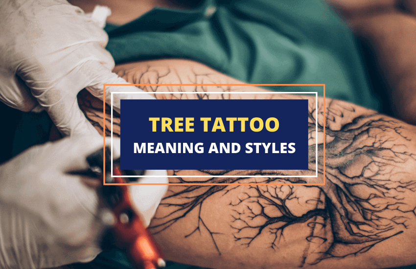 Tree tattoos and design ideas
