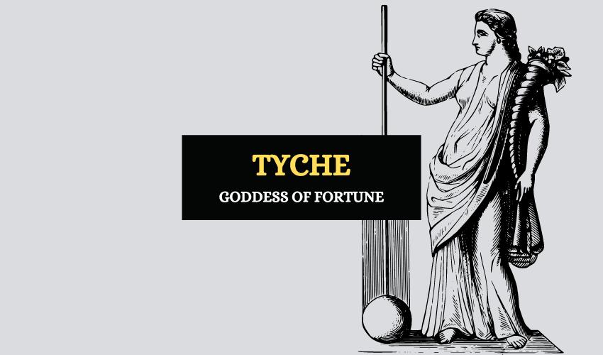 Tyche Greek goddess of fortune