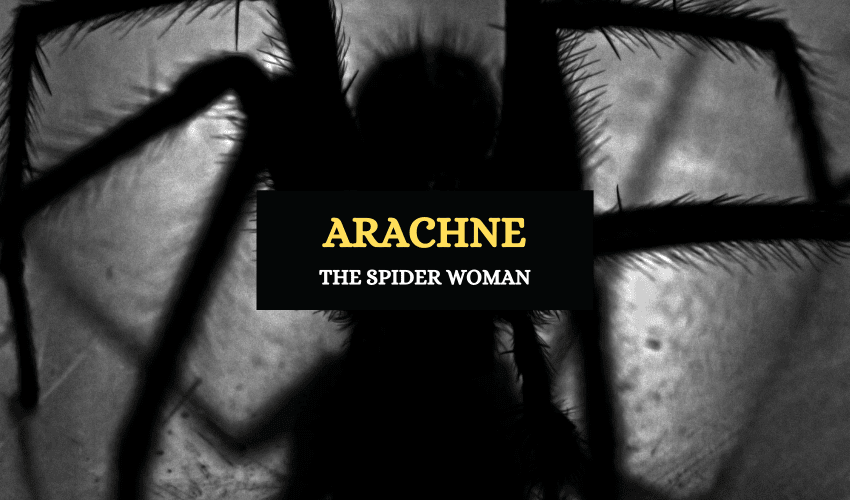 Arachne spider woman Greek mythology