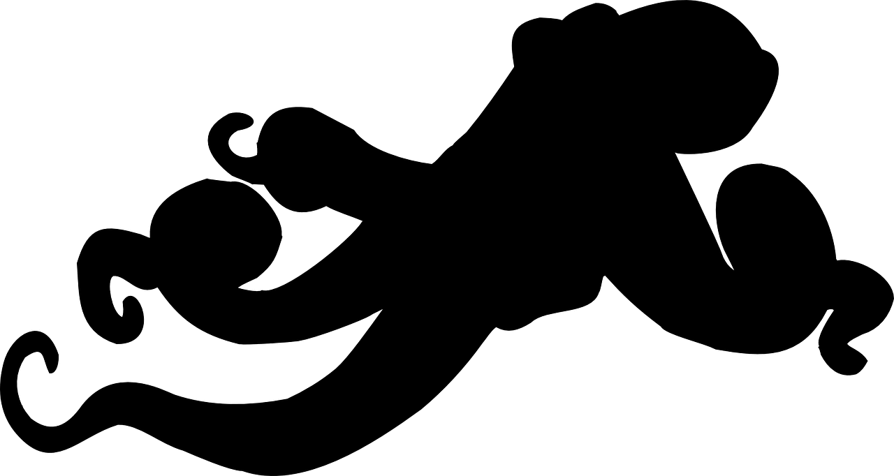 black work octopus tattoo