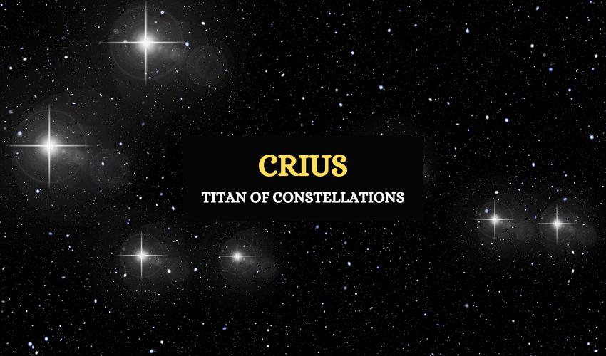 Crius titan god of constellations