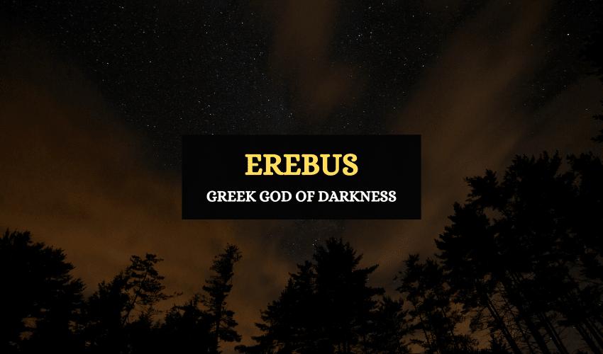 Erebus Greek god of darkness