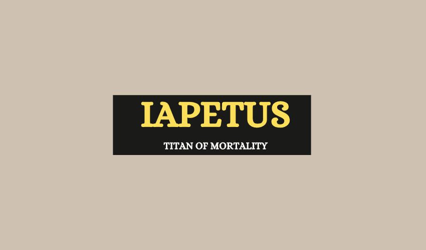 Iapetus titan of mortality