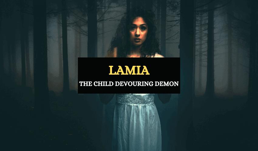 Lamia Greek mythology