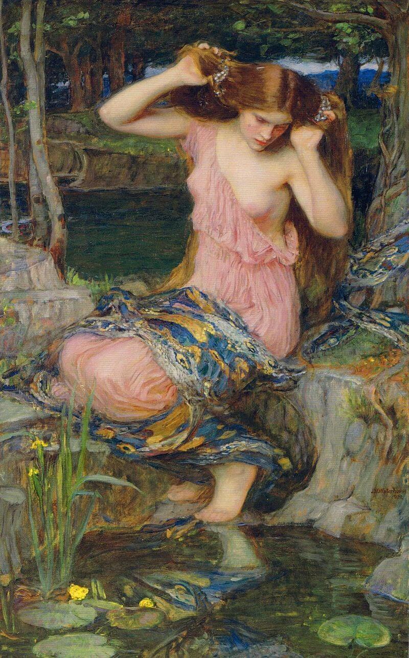 Lamia waterhouse Greek Mythology