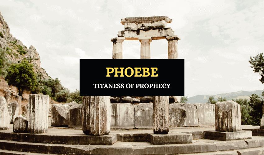Phoebe Greek mythology