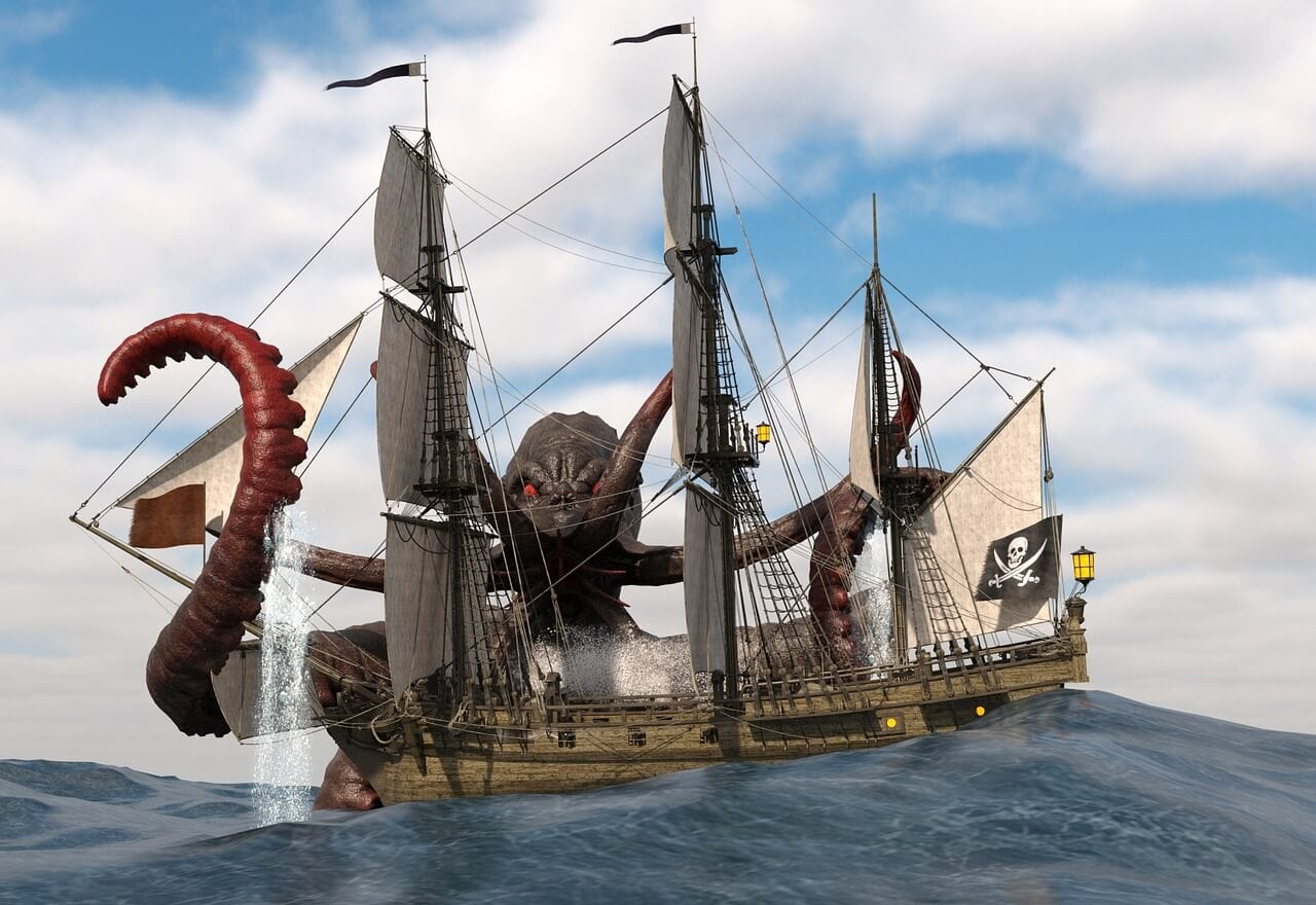 The kraken Norse culture
