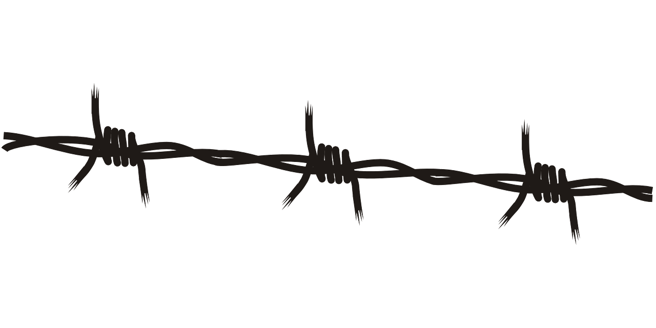 What do barbed wire tattoos mean?
