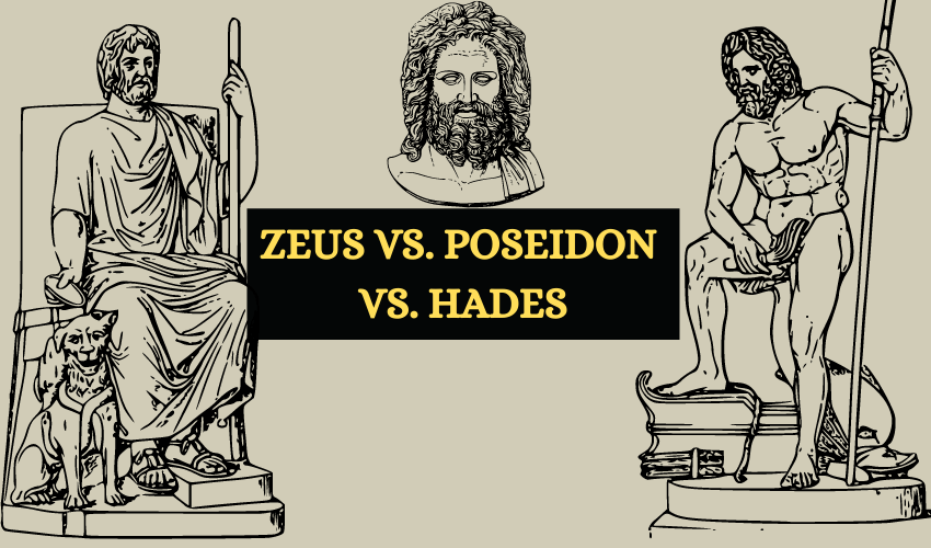Zeus vs hades vs Poseidon
