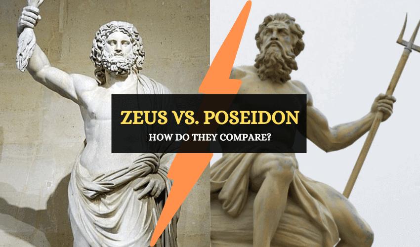 Zeus vs Poseidon differences