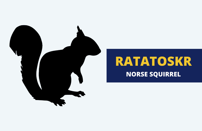 Ratatoskr Norse mythology squirrel