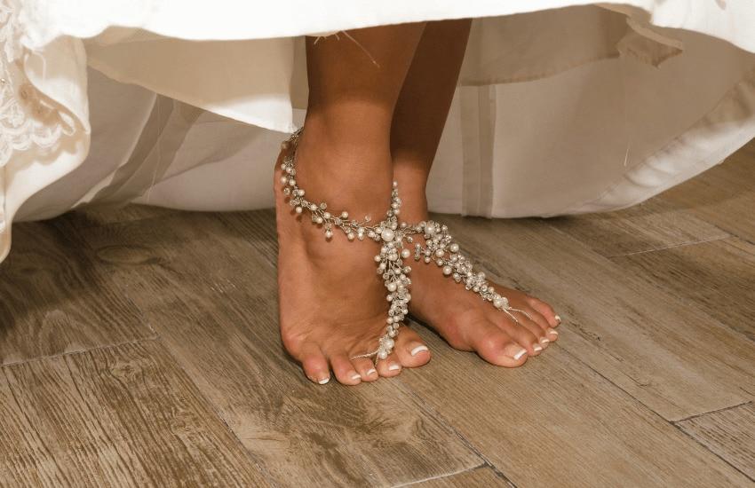 Anklets for brides
