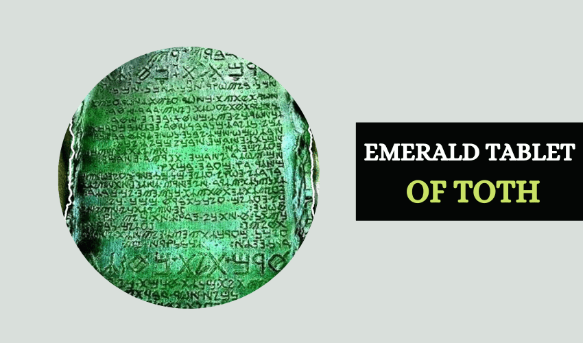 Emerald tablet of Toth meaning symbolism