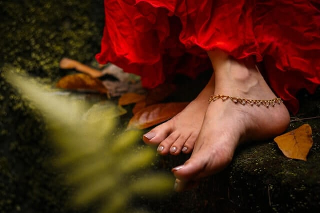 History of anklets