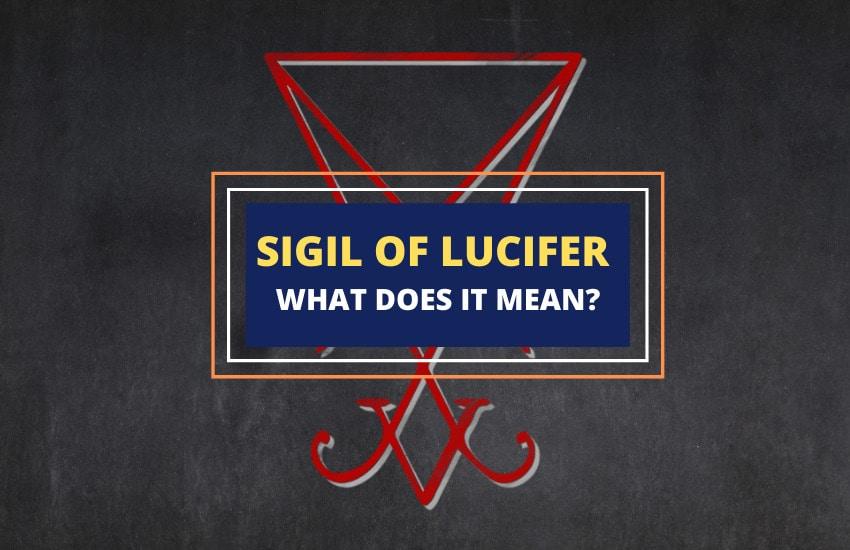 Sigil of Lucifer symbolism